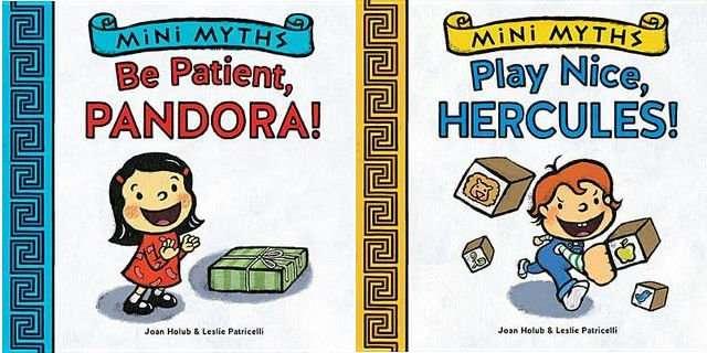 Mini Myths Be Patient Pandora and Play Nice Hercules