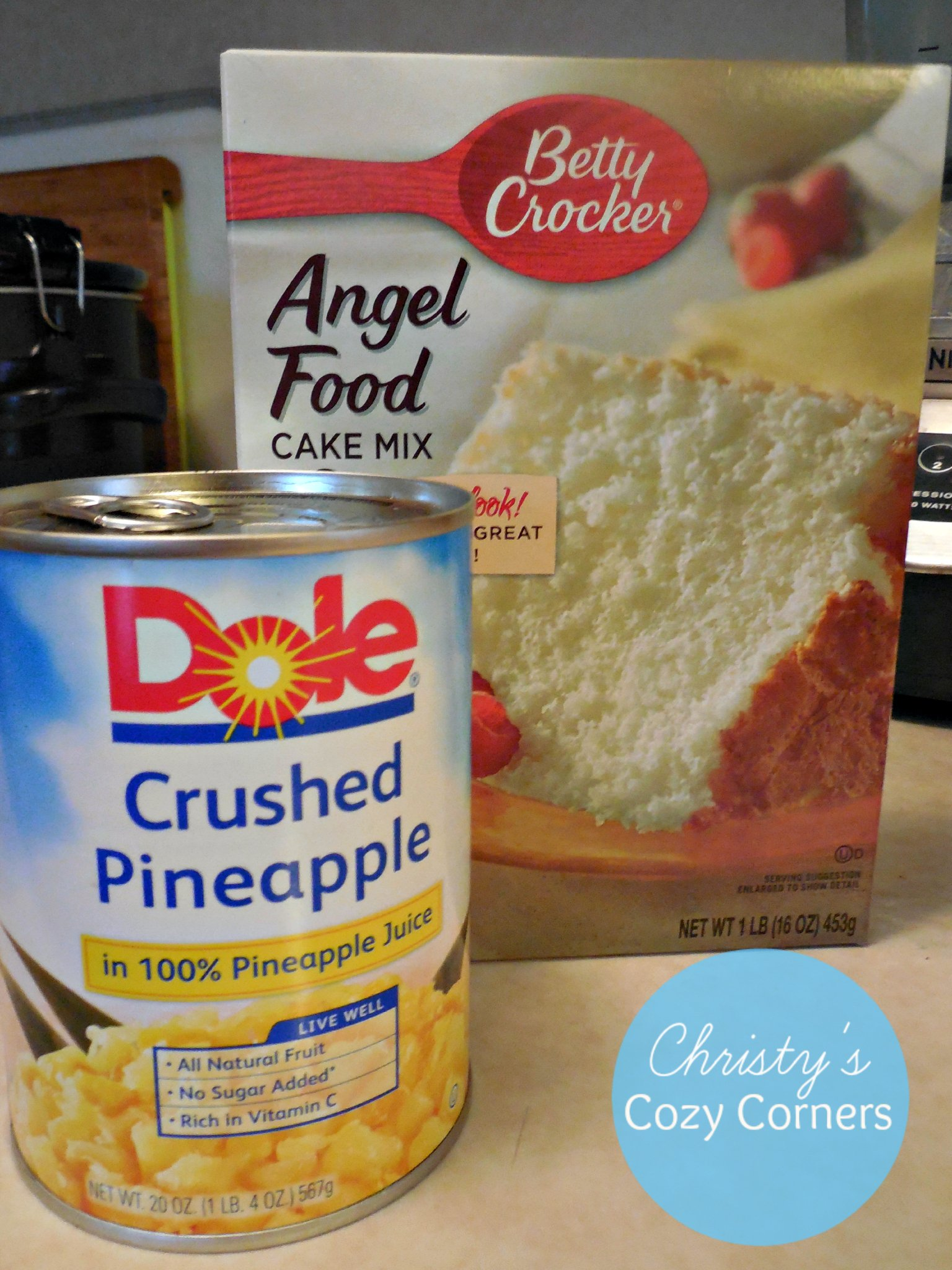 Dole Angel Food Cake Pineapple Cake