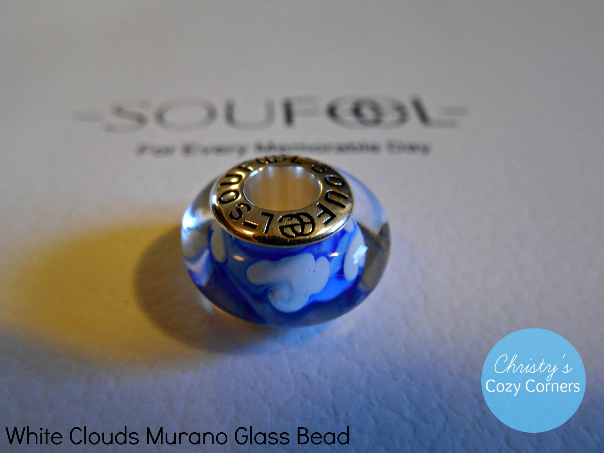 Soufeel White Clouds Bead