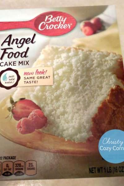 Easy Patriotic Dessert: Angel Food Cake with Berries