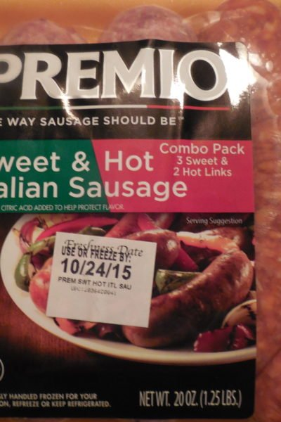 Premio Sausage and Pasta Recipe