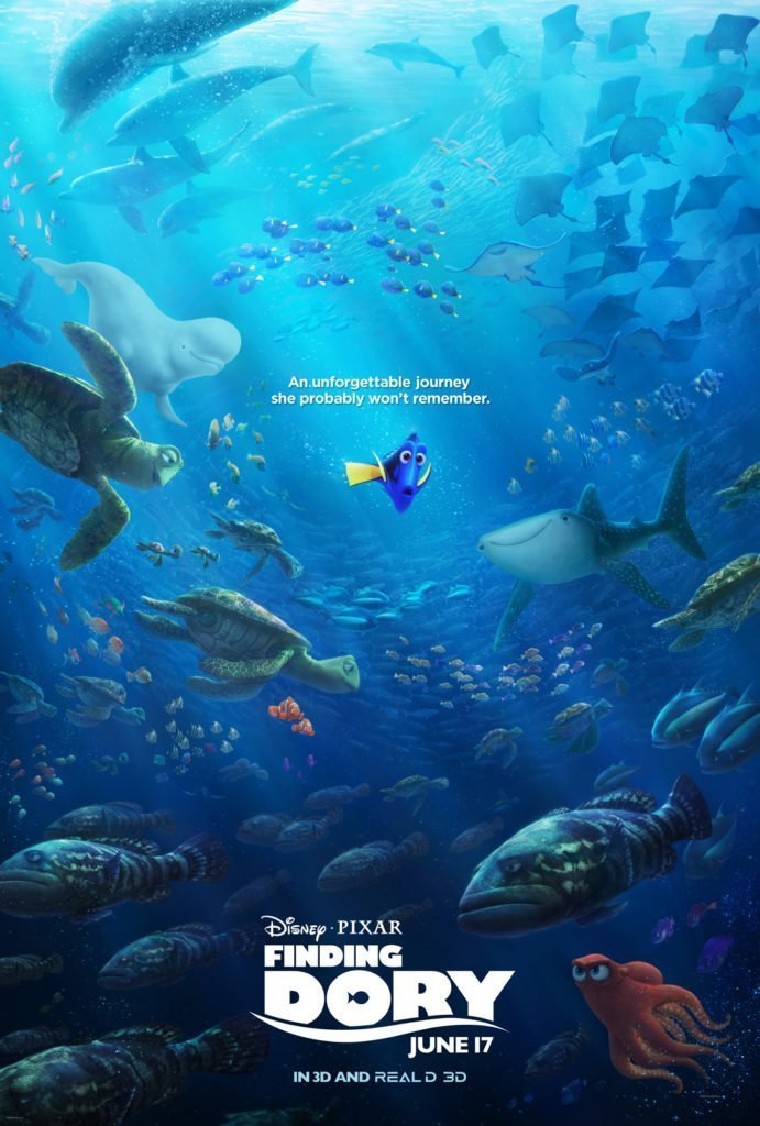 Finding Dory Fun Facts from the Movie