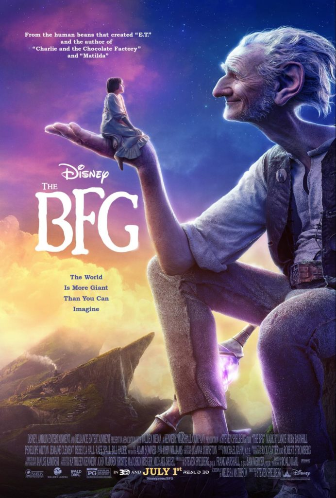 The BFG Coming to Theaters July 1st.
