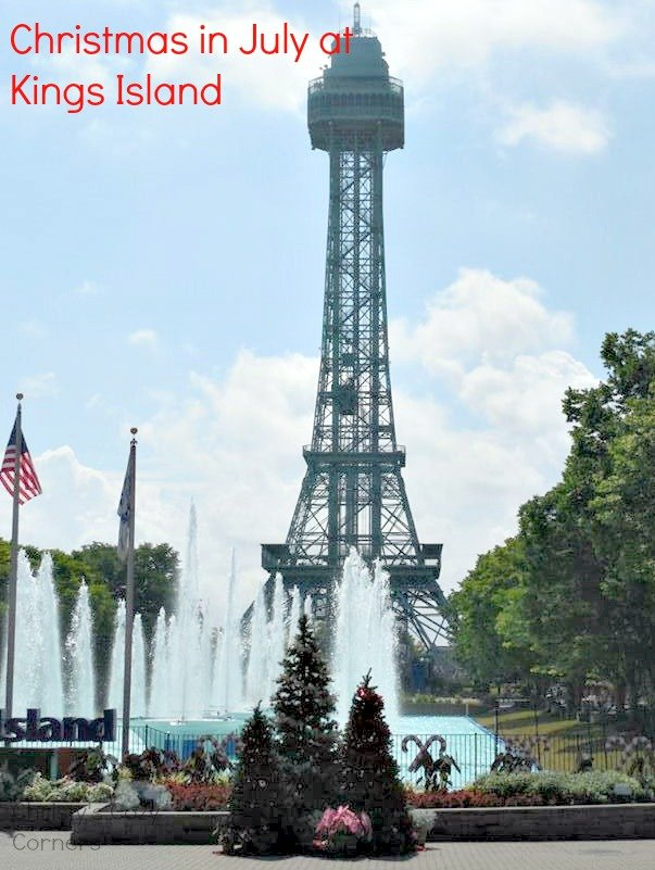 Kings Island Christmas in July Fun - Christy\'s Cozy Corners