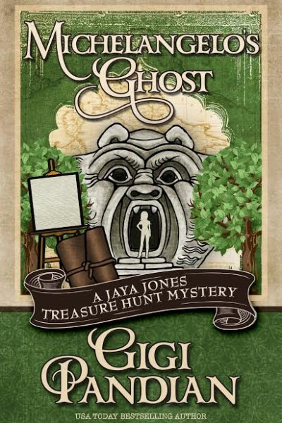 Michelangelo's Ghost Book Review and Giveaway US/Can Ends 10/29
