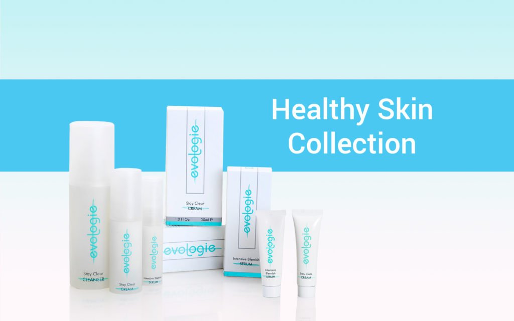 Evologie's Healthy Skin Collection