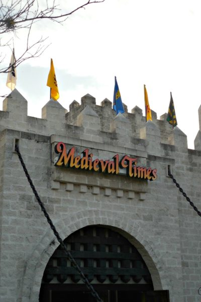Chivalry and Delicious Food at Medieval Times Orlando