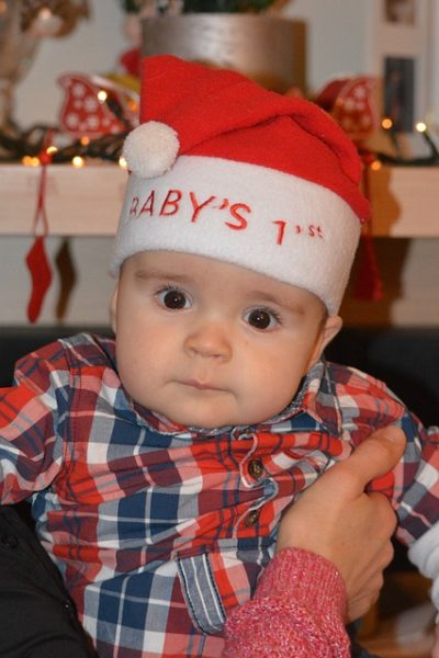 Make Your Baby's First Christmas Special