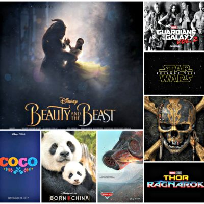 Walt Disney Studios 2017 Movie Lineup