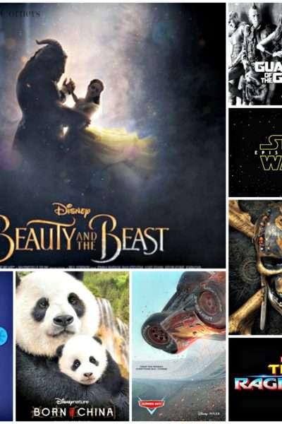 Walt Disney Studios 2017 Movie Lineup
