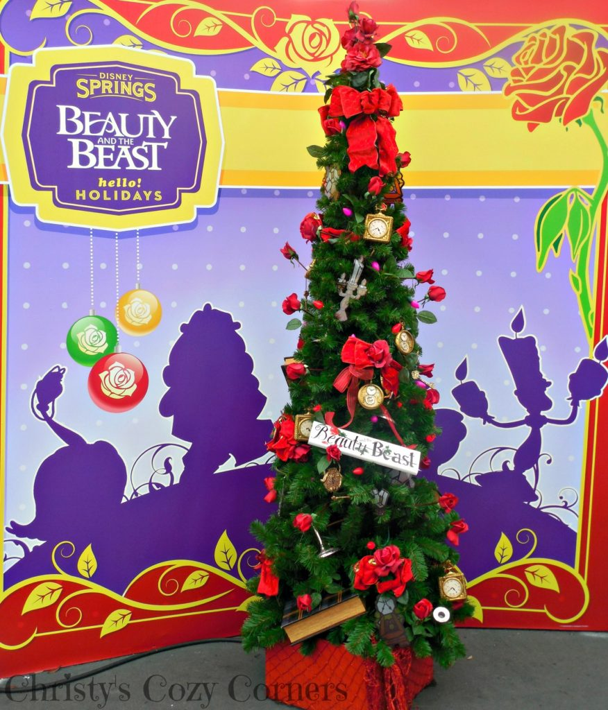 Beauty and the Beast Christmas Tree