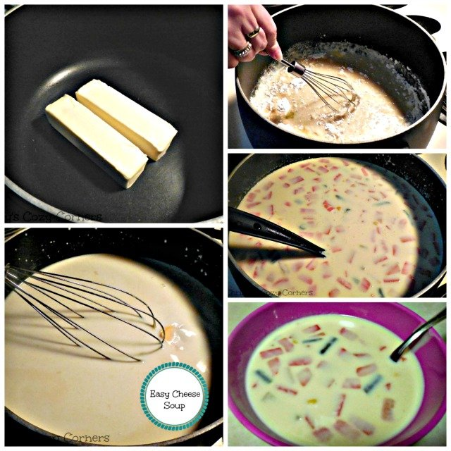 Easy Cheese Soup: Perfect for a Chilly Winter's Dinner