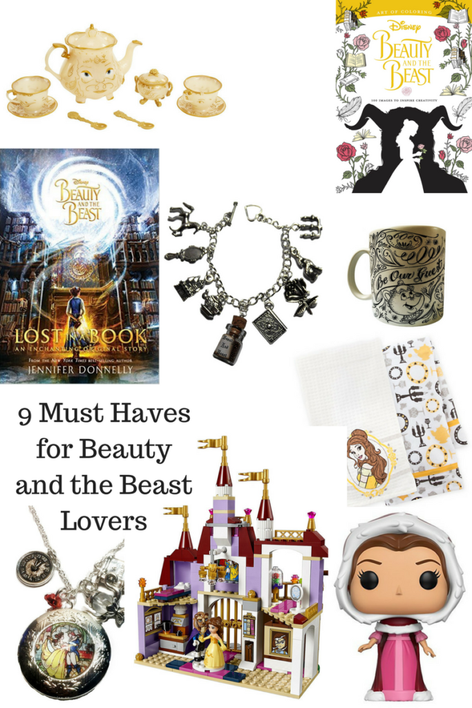 FREE Beauty and the Beast Coloring Pages and Must Have Products #BeOurGuest
