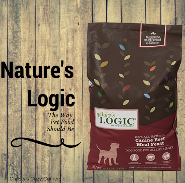 Give Your Dog a 100% Natural Pet Food with Nature's Logic