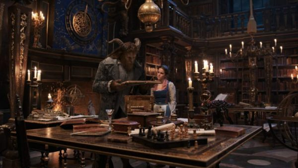 Beauty and the Beast Live Action Movie Review and Free Coloring Pages