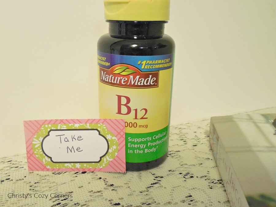One Up Your Health with Nature Made Energy B-12 Vitamins