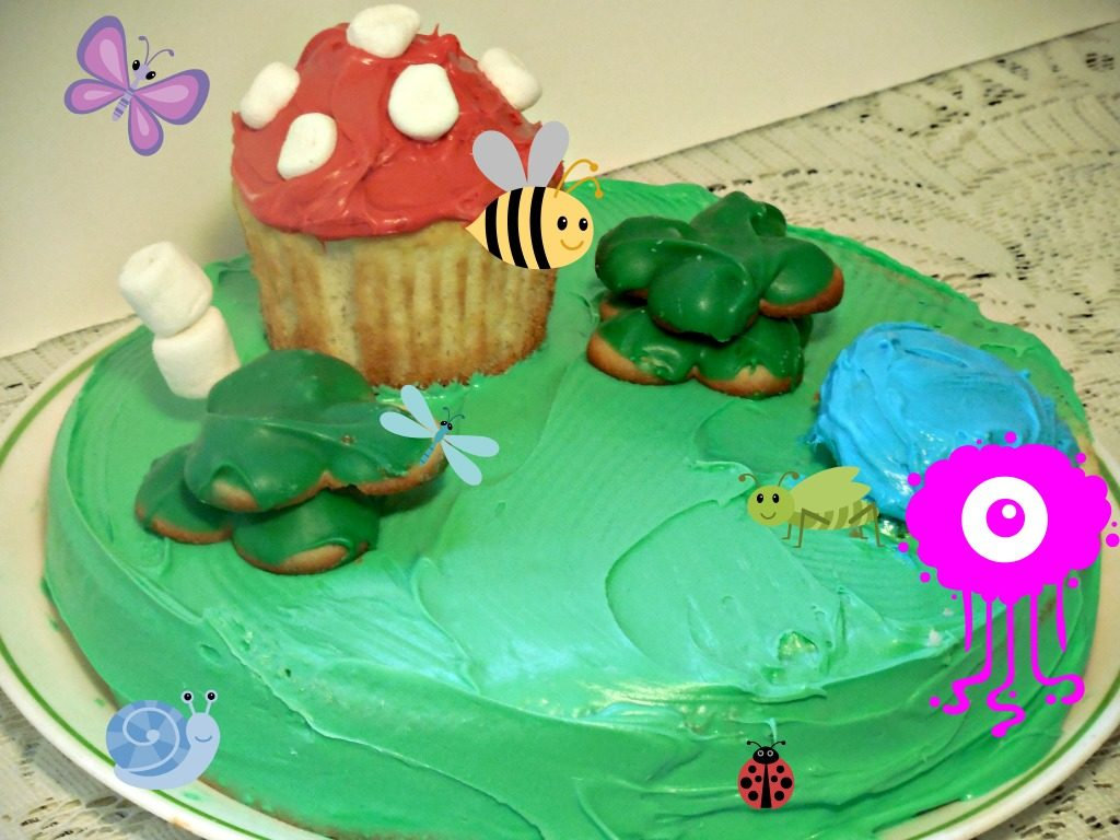 Smurfs: The Lost Village Cupcakes plus a Swag Giveaway US 4/6
