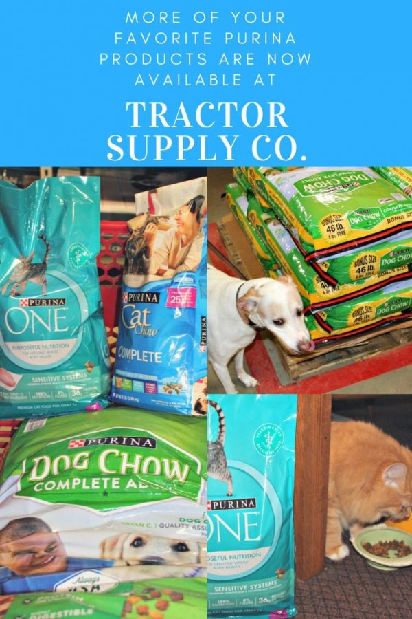 Get Your Purina Pet Products at Tractor Supply #TractorSupply #ad