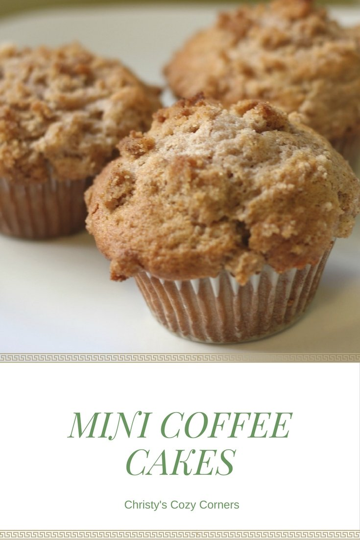 Mini Coffee Cakes: Perfect for a Mother's Day Treat