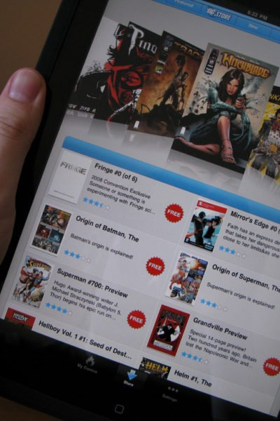 Are Digital Comics the Way of the Future?