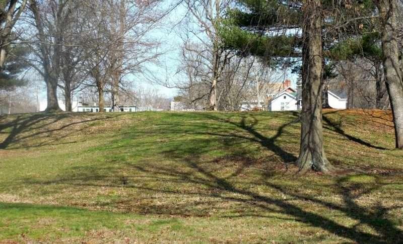 Ceremonial mound in Marietta Ohio