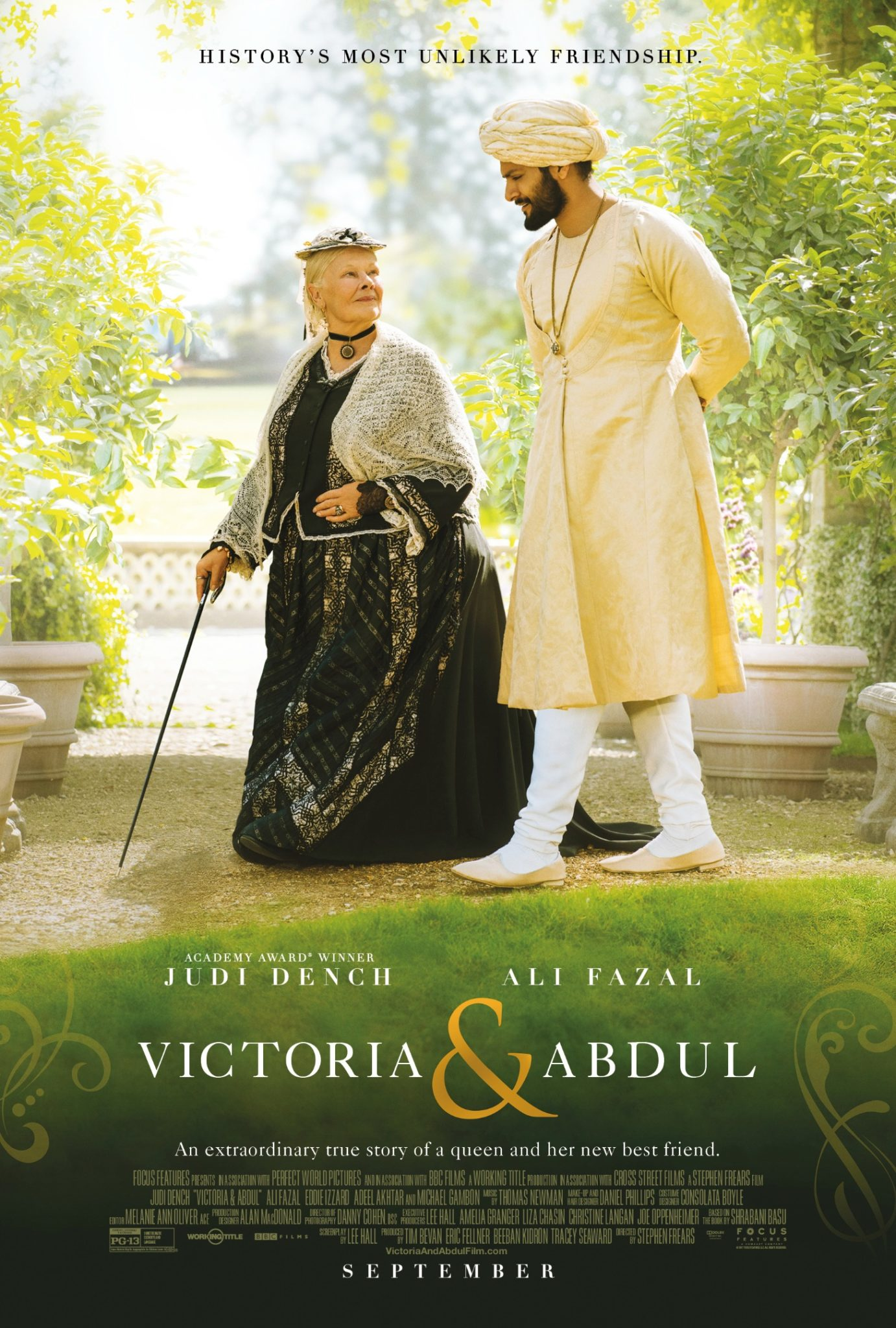 Watch the Official Trailer for Victoria & Abdul Starring Judi Dench