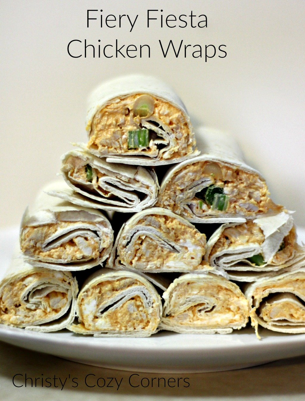 Fiery Fiesta Buffalo Chicken Wraps