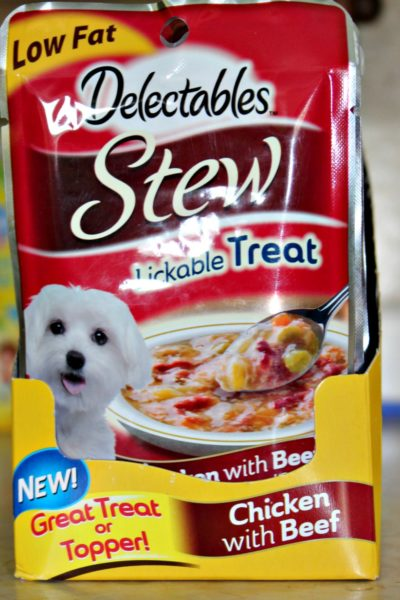 It's Tongue Out Tuesday with Delectables Stew Lickable Treats for Dogs and a Contest
