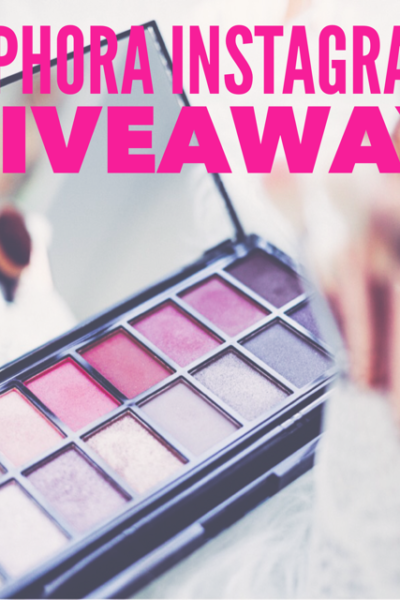 $100 Sephora Gift Card Giveaway WW 6/9
