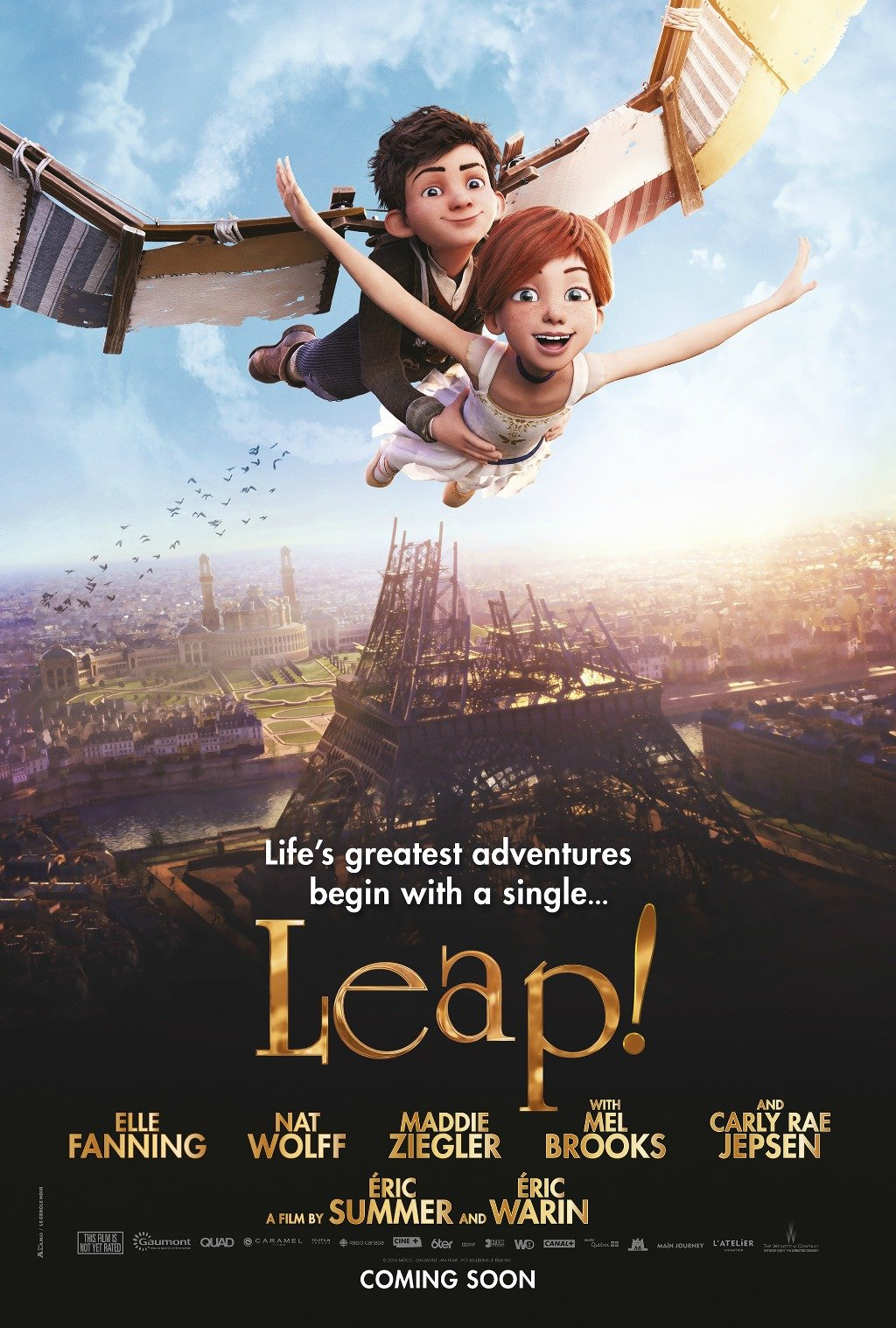 New Trailer for Leap! Starring Elle Fanning and Nat Wolff