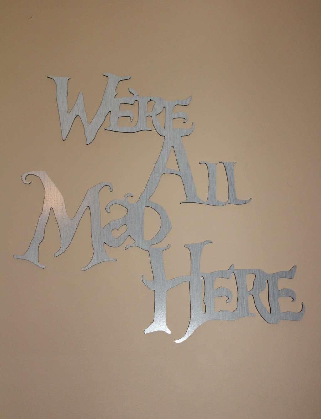 Trendy Metal Sign from Foam Core Print