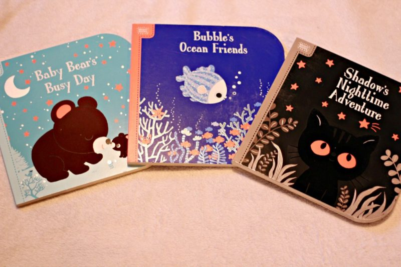 Baby Bear's Busy Day, Bubble's Ocean Friends, Shadow's Nighttime Adventure Board Books for Toddlers