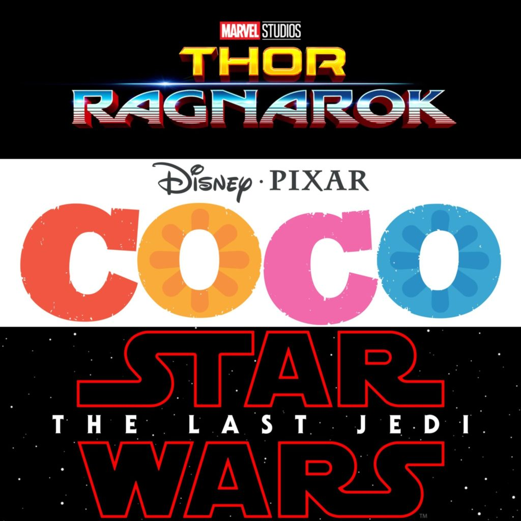 Marvel, Pixar and Disney Fall 2017 Movie Lineup