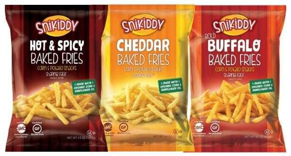 Snikiddy baked fries