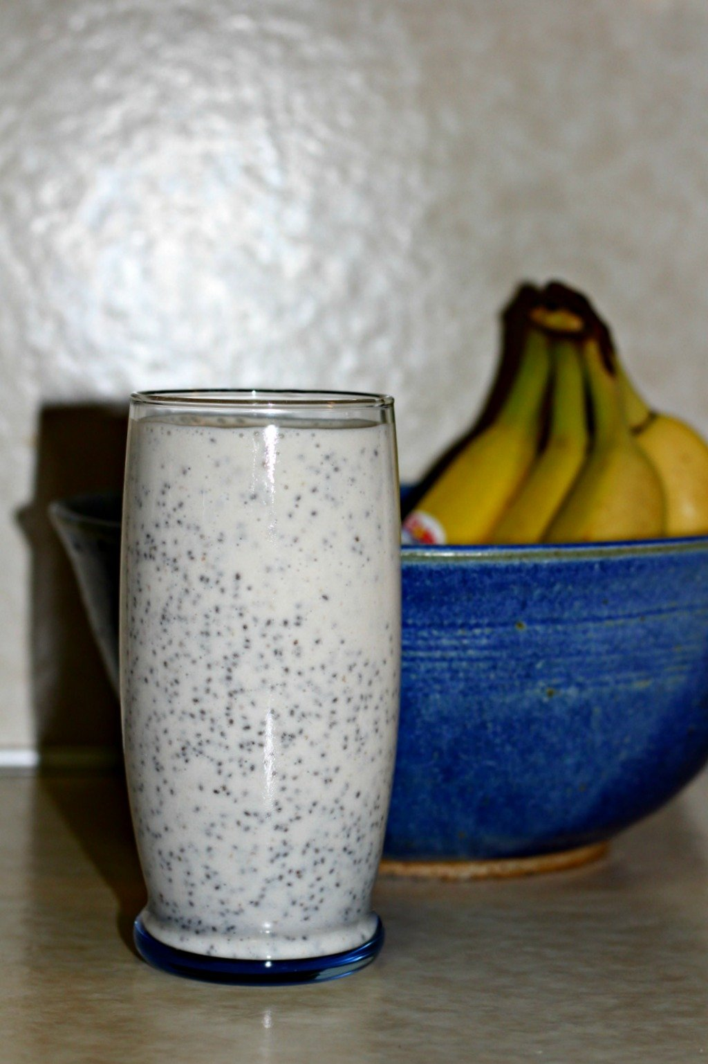 Strawberry Banana Chia Smoothie with Multiforce Alkalizing Powder