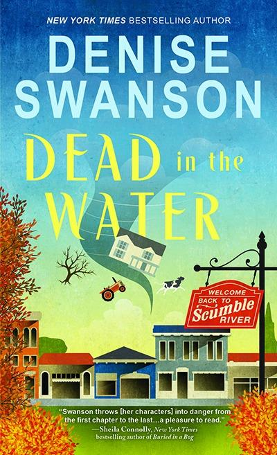 dead in the water by denise swanson book cozy mystery scumble river
