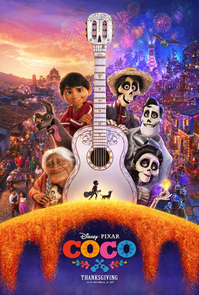 Disney Pixar COCO Movie Review and Activity Sheets #PixarCoco