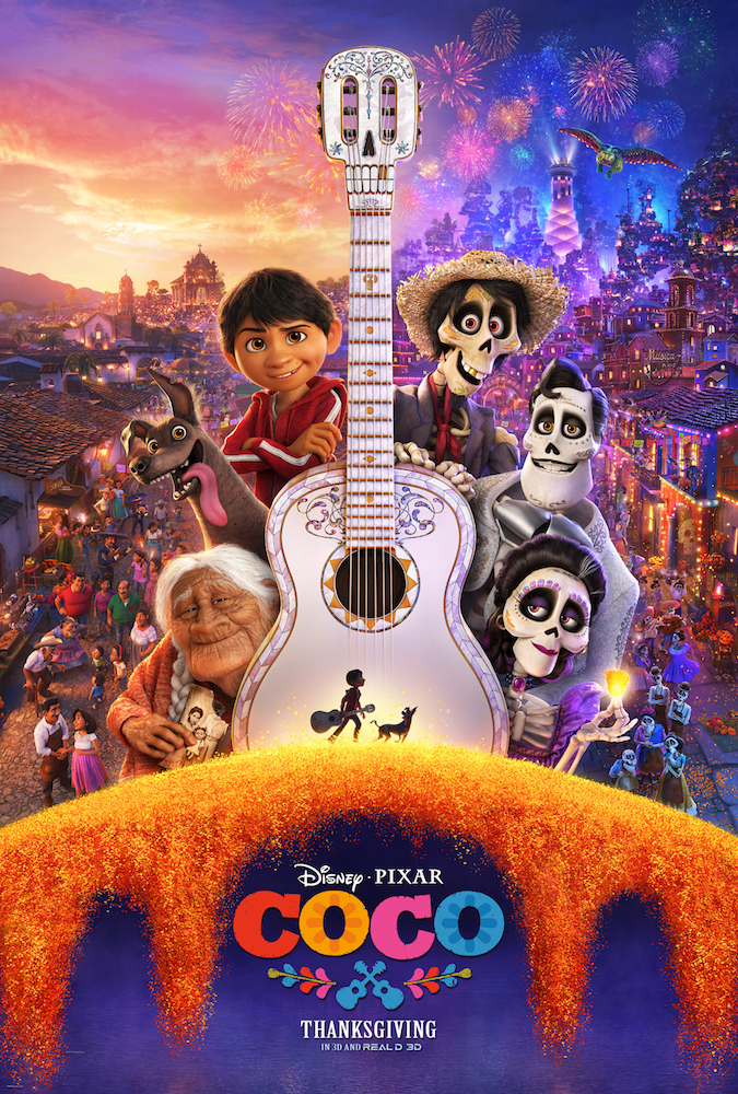 Get some Disney #PixarCoCo Printable Coloring Pages
