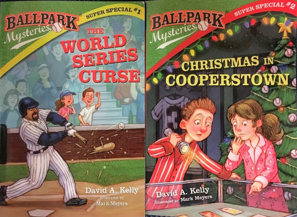 The World Series Curse and Christmas in Cooperstown: Ballpark Mysteries Super Specials