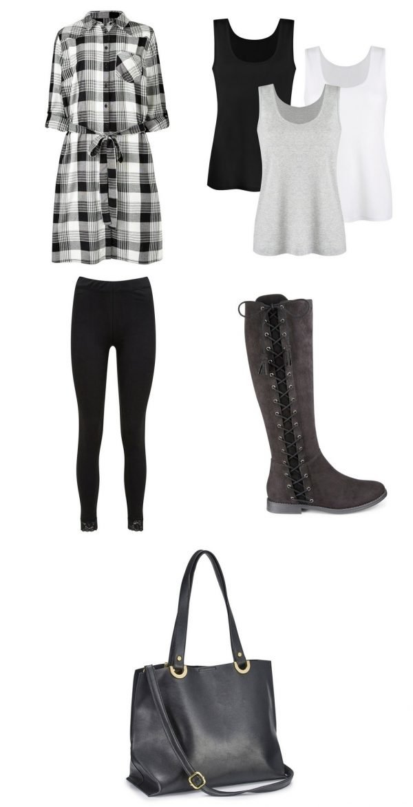 Cute Fall Outfit Idea from Simply Be