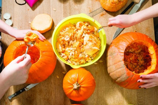 Pumpkin Carving and Halloween Fun