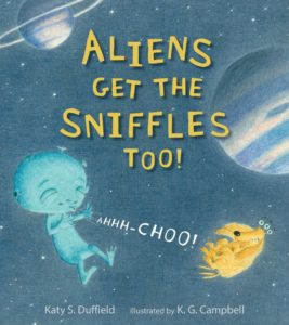 Aliens Get the Sniffles Too Book Tour and Giveaway US 11/30