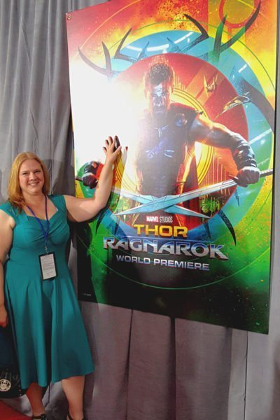 I Walked the Red Carpet for the Thor: Ragnarok World Premiere #ThorRagnarokEvent