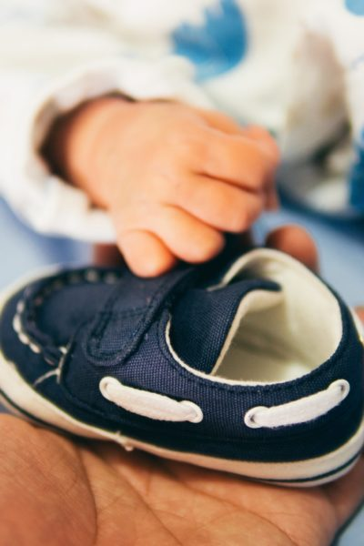 Letting Go of Your Child's Old Clothes