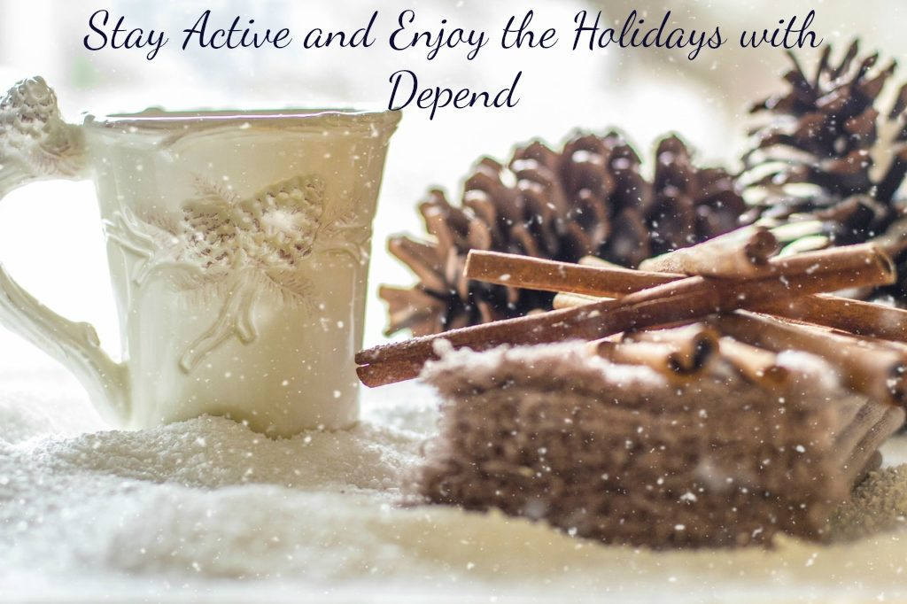 Stay Active During the Holidays with Depend® #OwnYourGreatness #ad