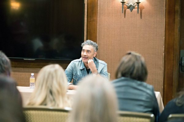 Interviewing Taika Waititi