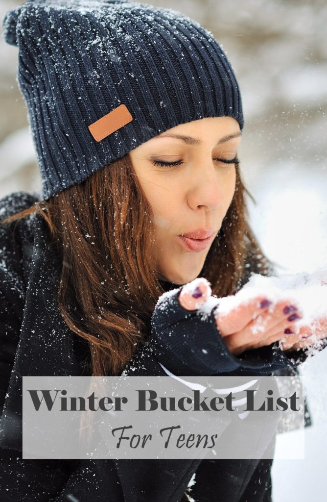 Winter Bucket List For Teens