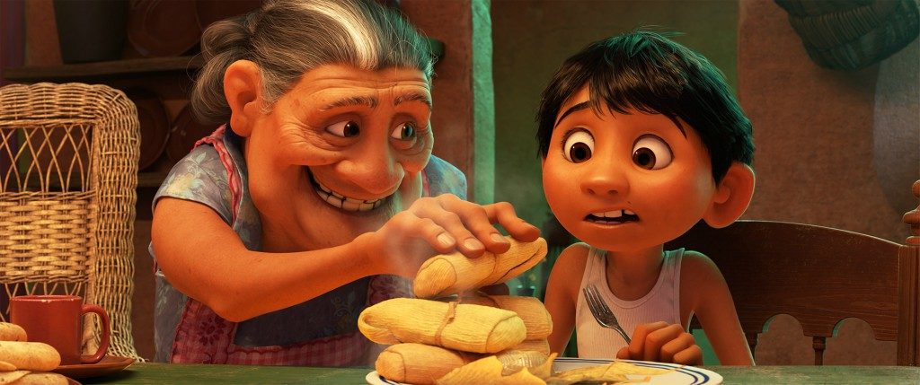 Passing Down Family Recipes #PixarCoco and Hot Chocolate