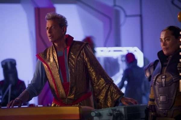 Jeff Goldblum and Rachel House