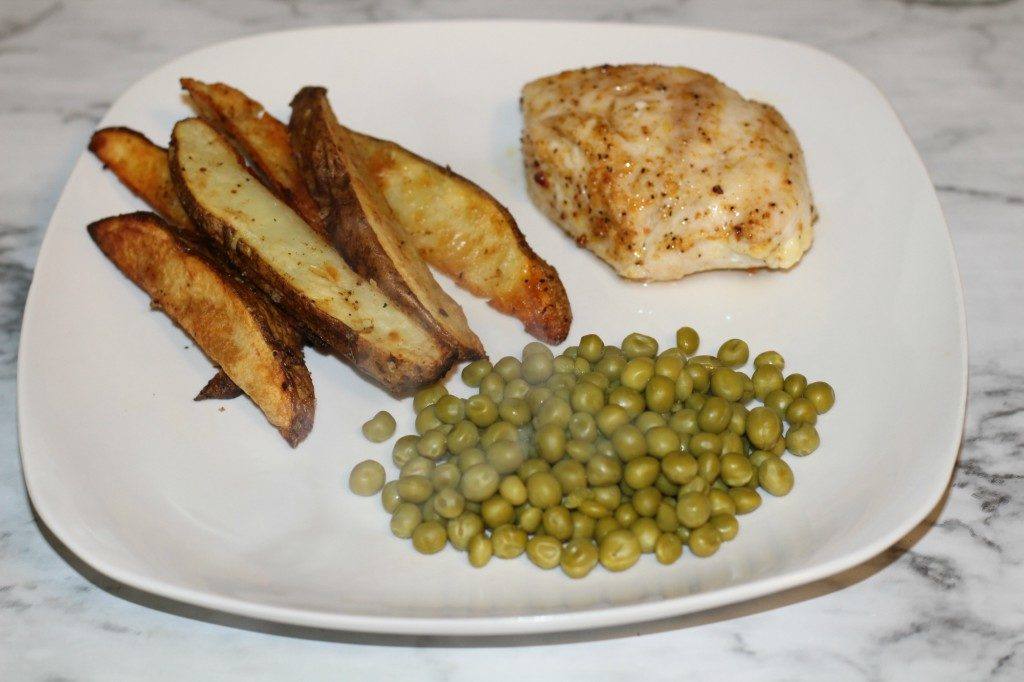 Easy Chicken and Potatoes Sheet Pan Dinner